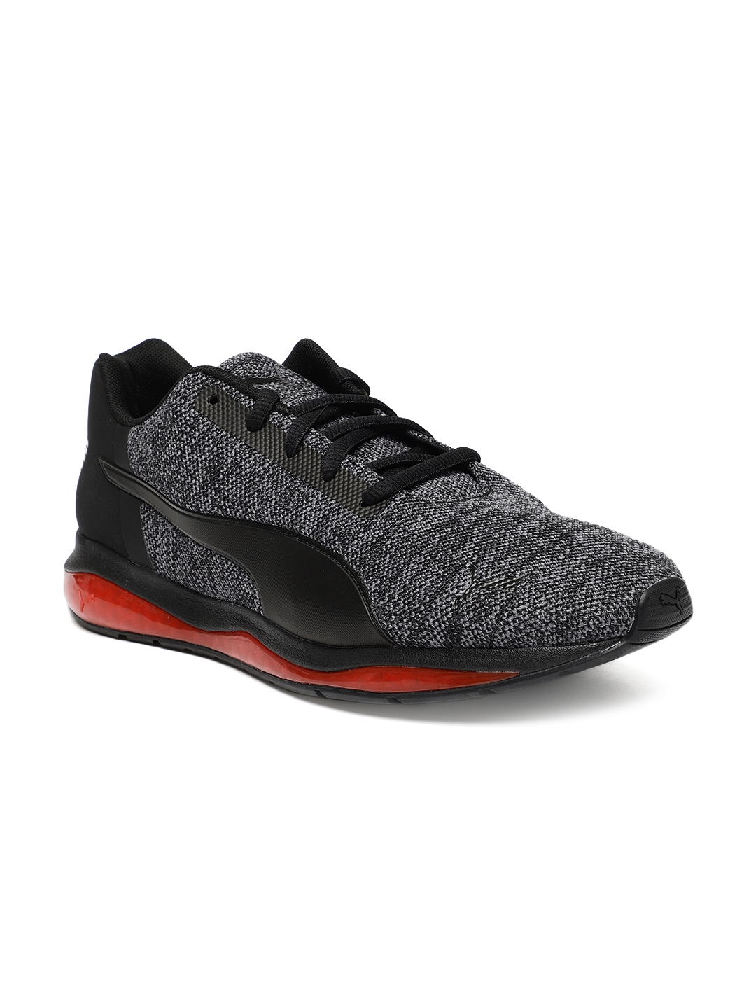 3663ef3329d Buy Puma Men Black Cell Ultimate Knit Running Shoes - Sports Shoes ...