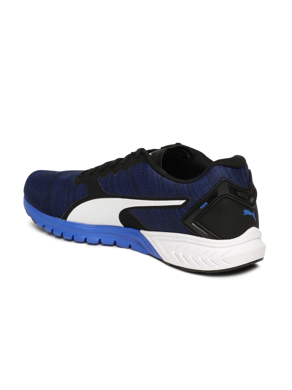 4851f75b2ae Buy Puma Men Blue IGNITE Dual NM Running Shoes - Sports Shoes for ...