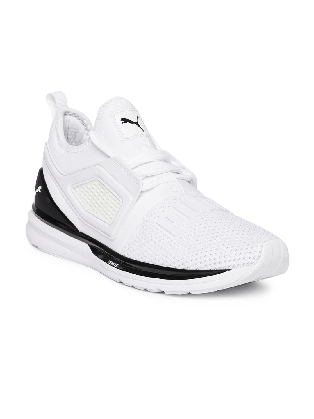 060f7d145dc9 Buy Puma Men White IGNITE Limitless 2 Running Shoes - Sports Shoes ...