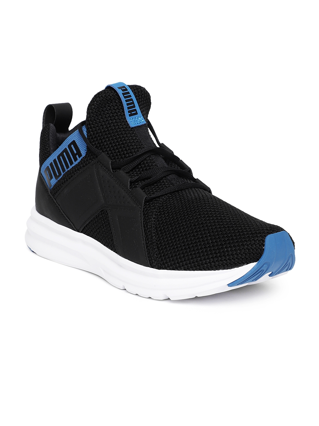 29bb955a1bc Buy Puma Men Black   Blue Enzo Weave Training Shoes - Sports Shoes ...