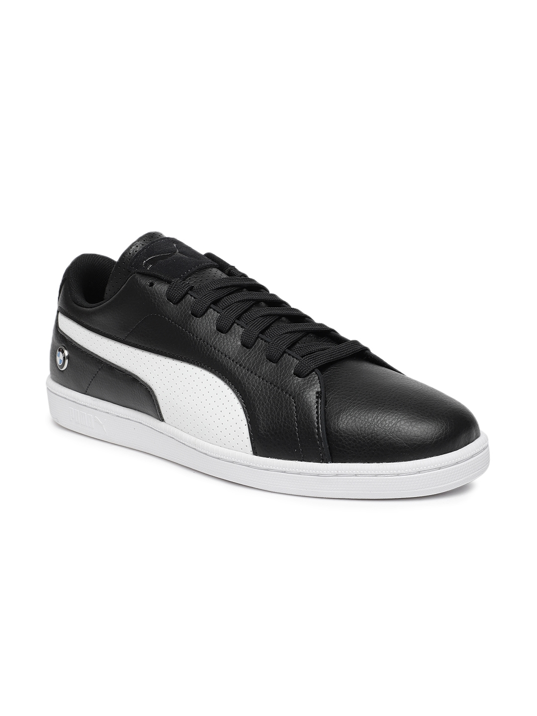 b8da20e31aacb3 Buy Puma Men Black BMW Motorsport Court Perf Sneakers - Casual Shoes ...