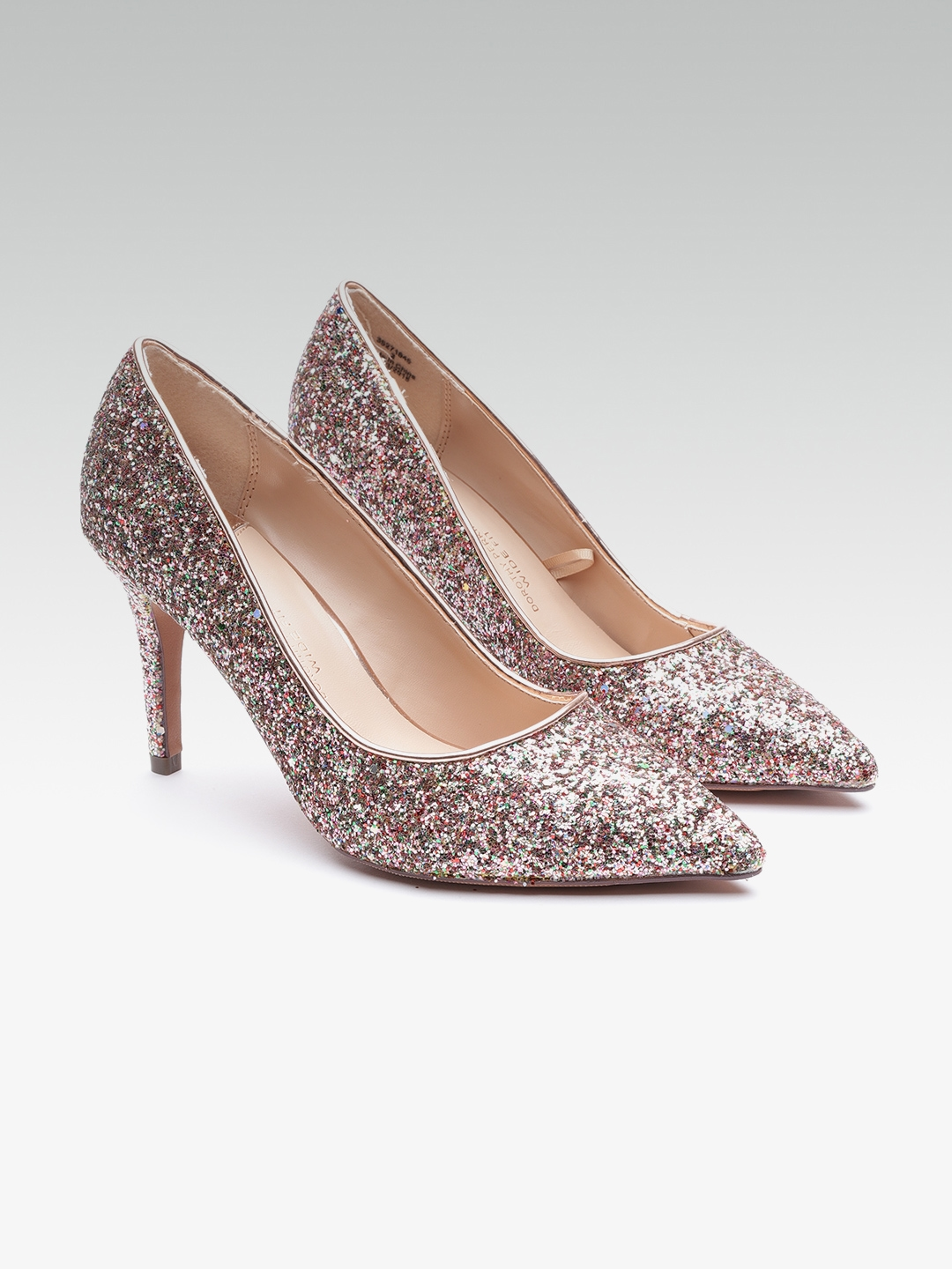 cf6bfb99079 Buy DOROTHY PERKINS Women Rose Gold Solid Pumps - Heels for Women ...
