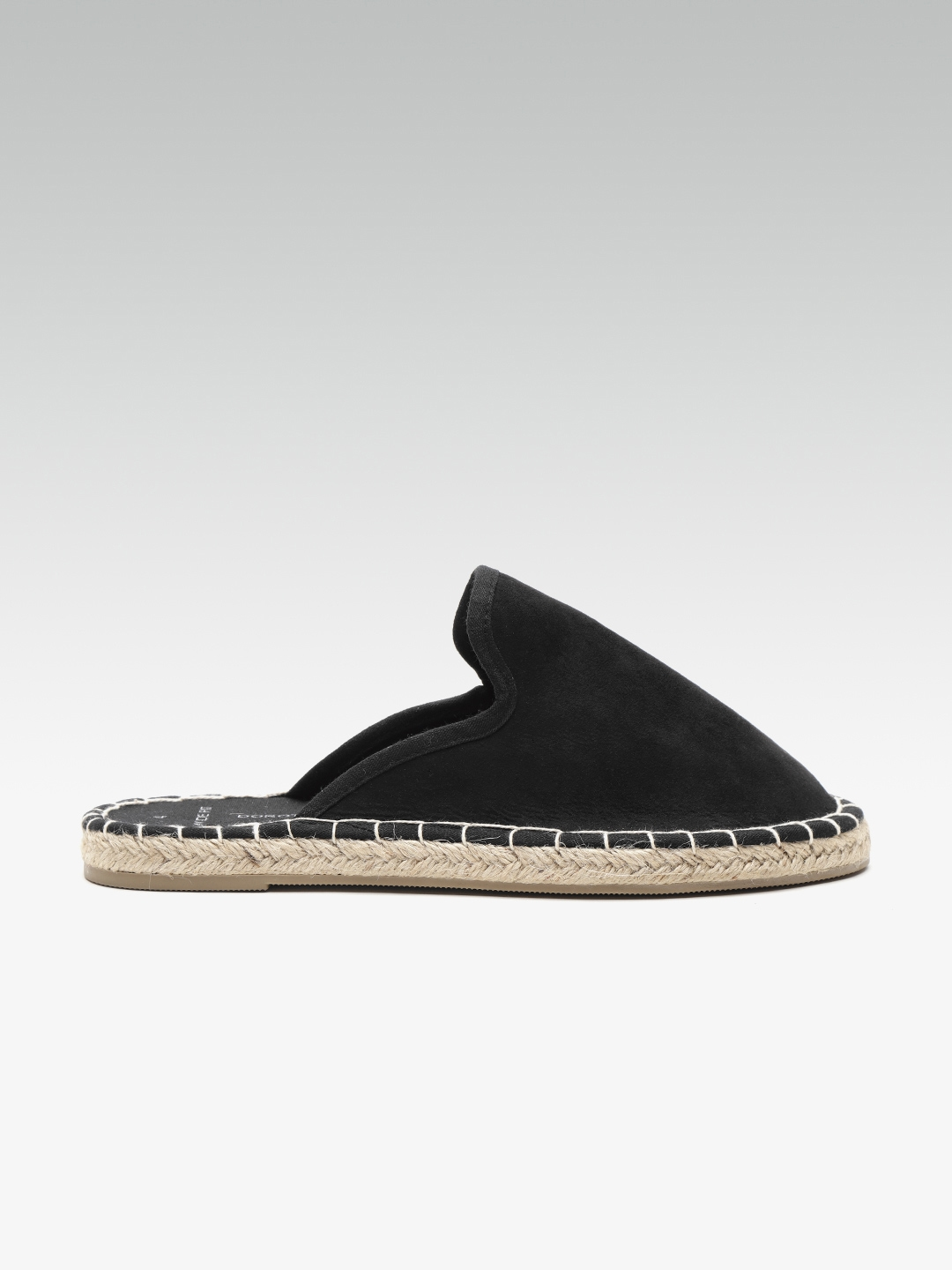 bb8ca1a8c Buy DOROTHY PERKINS Women Black Solid Espadrille Mules - Flats for ...