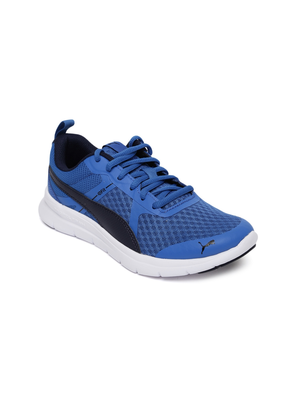 a568ff1fe8 Buy PUMA Kids Blue Flex Essential Junior Sneakers - Casual Shoes for ...