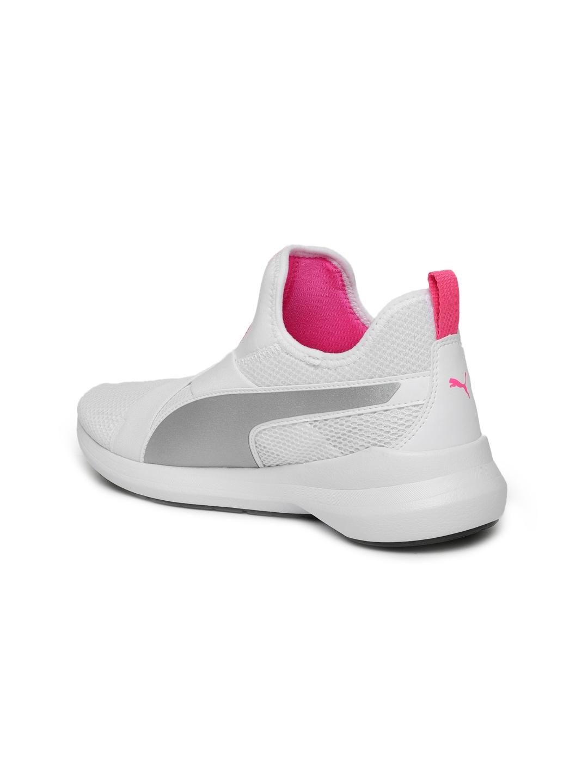 0197d481a3a Buy Puma Women White Rebel X SOFTFOAM+ Training Shoes - Sports Shoes ...