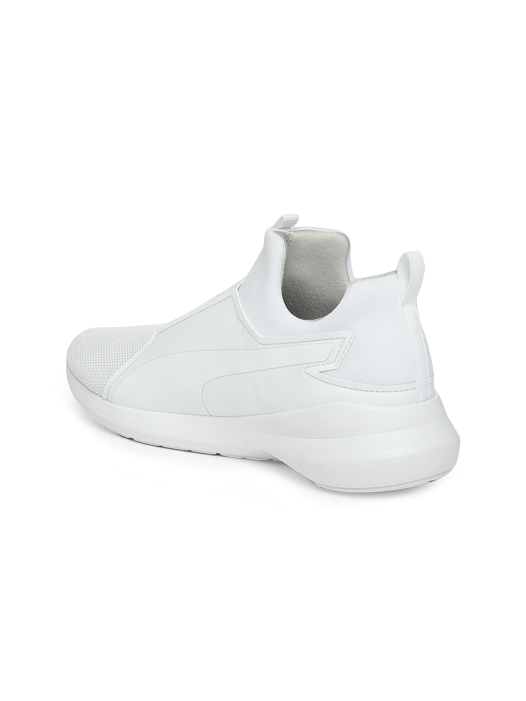 cc551f24d8a21c Buy Puma Women White Rebel Mid Core Slip On Sneakers - Casual Shoes ...