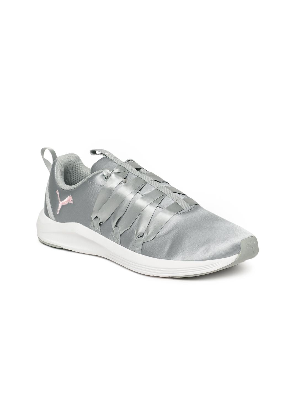 2fac06e9b1f Buy Puma Women Grey Prowl Alt Satin Training Shoes - Sports Shoes ...