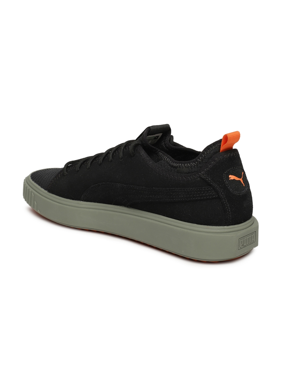 9d9b74f232a205 Buy Puma Men Black Breaker Mesh FOF Suede Casual Shoes - Casual ...