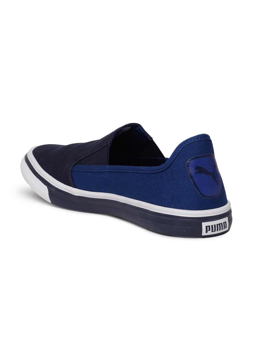 f39e76b1c63 Buy Puma Men Navy Apollo IDP Slip On Sneakers - Casual Shoes for Men ...