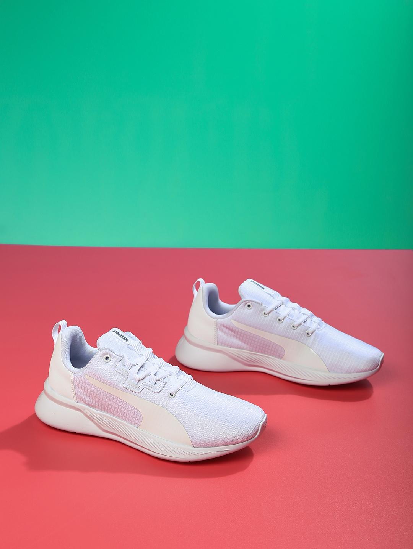 13f44aa16b64 Buy Puma Women White Tishatsu Runner Shoes - Sports Shoes for Women ...