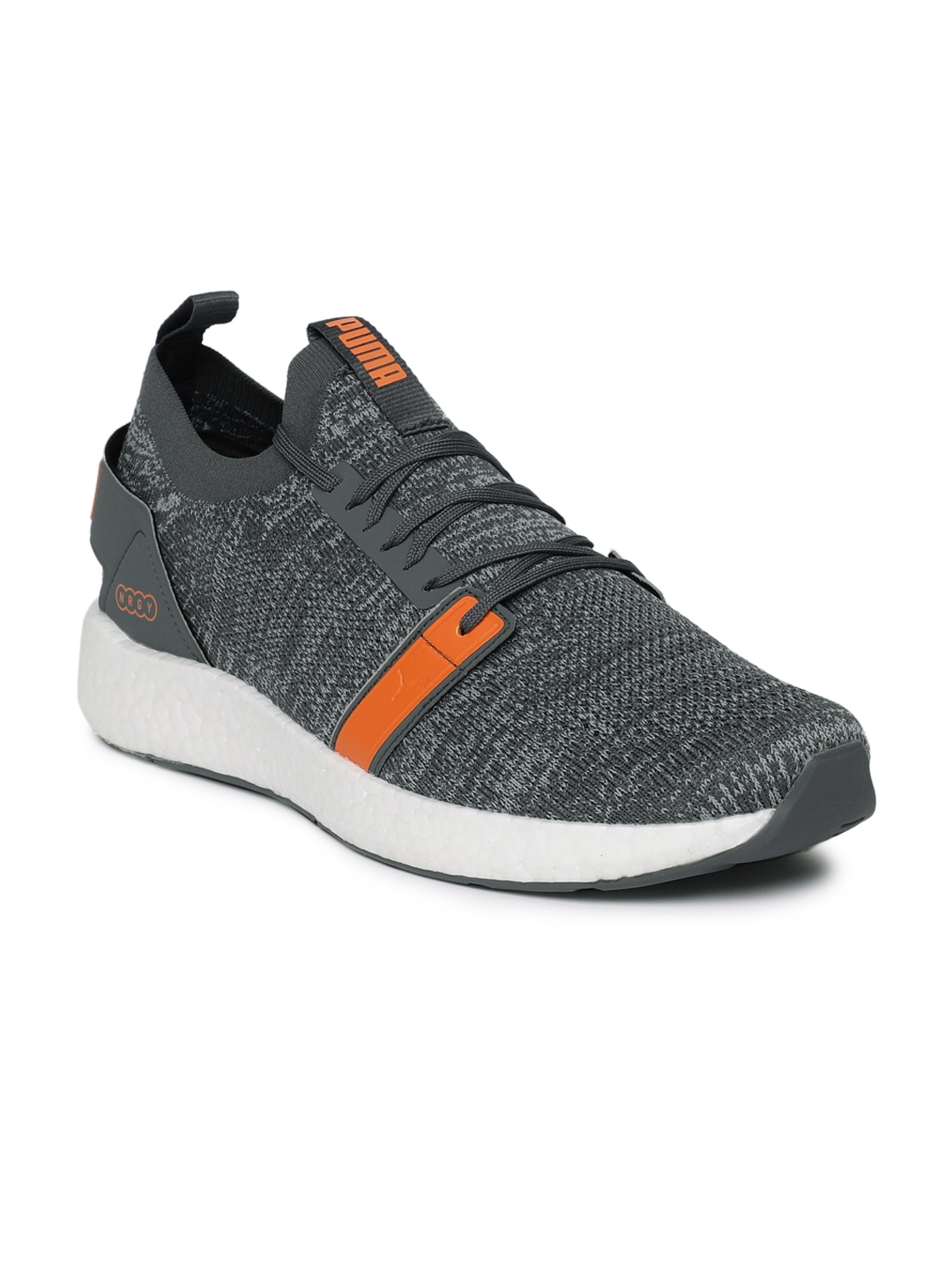 3604d43660b Buy Puma Men Grey NRGY Neko Engineer Knitted Running Shoes - Sports ...