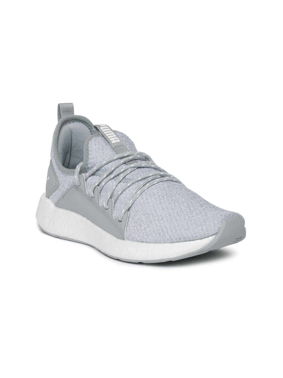 Buy Puma Women Grey NRGY Neko Knitted Running Shoes - Sports Shoes ... 0f6498366