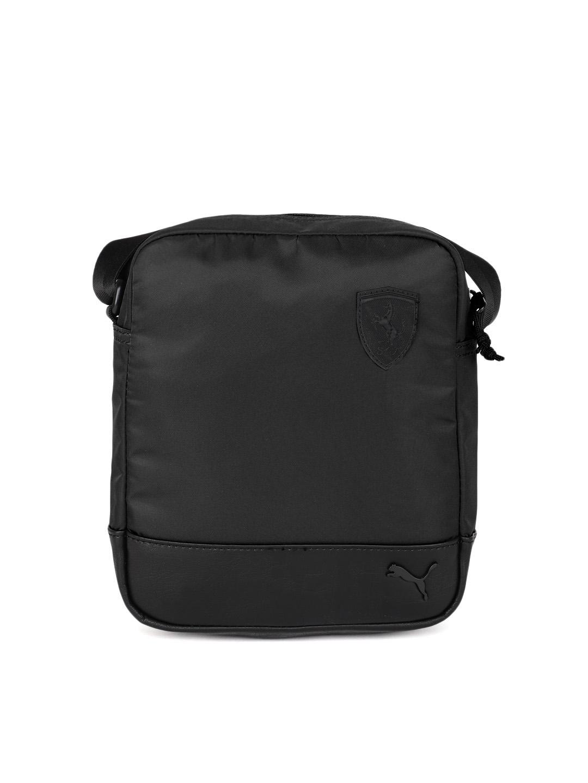 c9afc04a7af2 Buy Puma Unisex Black SF LS Portable Messenger Bag - Messenger Bag ...