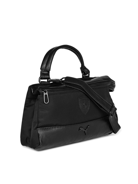 Buy Puma Black SF LS Handheld Bag - Handbags for Women 6817277  d82f570b81