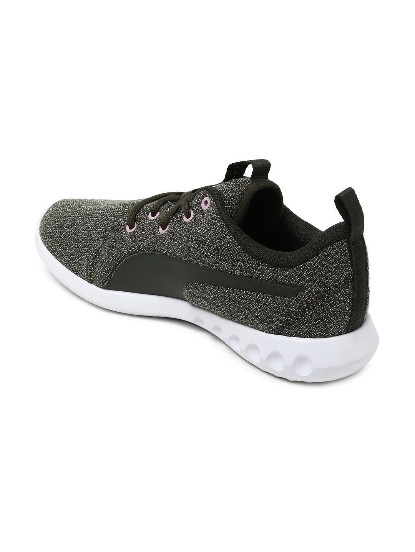 99cc5764b4d6ab Buy Puma Women Olive Green Carson 2 Knit NM Wns Walking Shoes ...