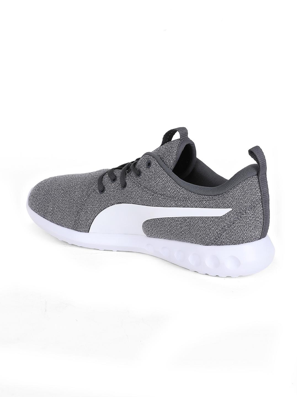 53310b22309293 Buy Puma Men Grey Carson 2 Knit NM Walking Shoes - Sports Shoes for ...