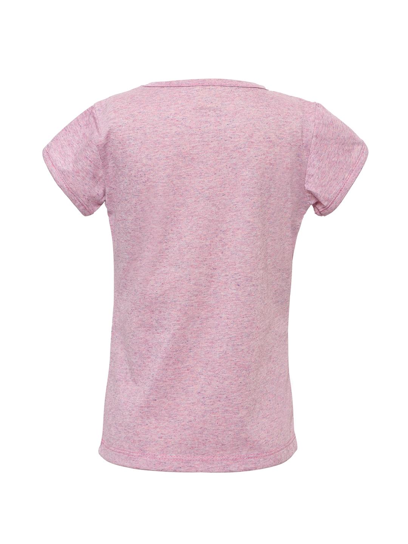 5cd2446b4ec Buy Punkster Girls Pink Printed 100% Cotton Short Sleeves Top - Tops ...