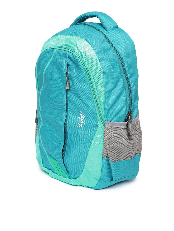 38c6fb2625c0 Buy Skybags Unisex Blue Eon 2 Backpack - Backpacks for Unisex ...