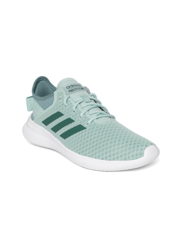 a591b45d0f0 Buy ADIDAS Women Green Cloudfoam QT FLEX Running Shoes - Casual ...