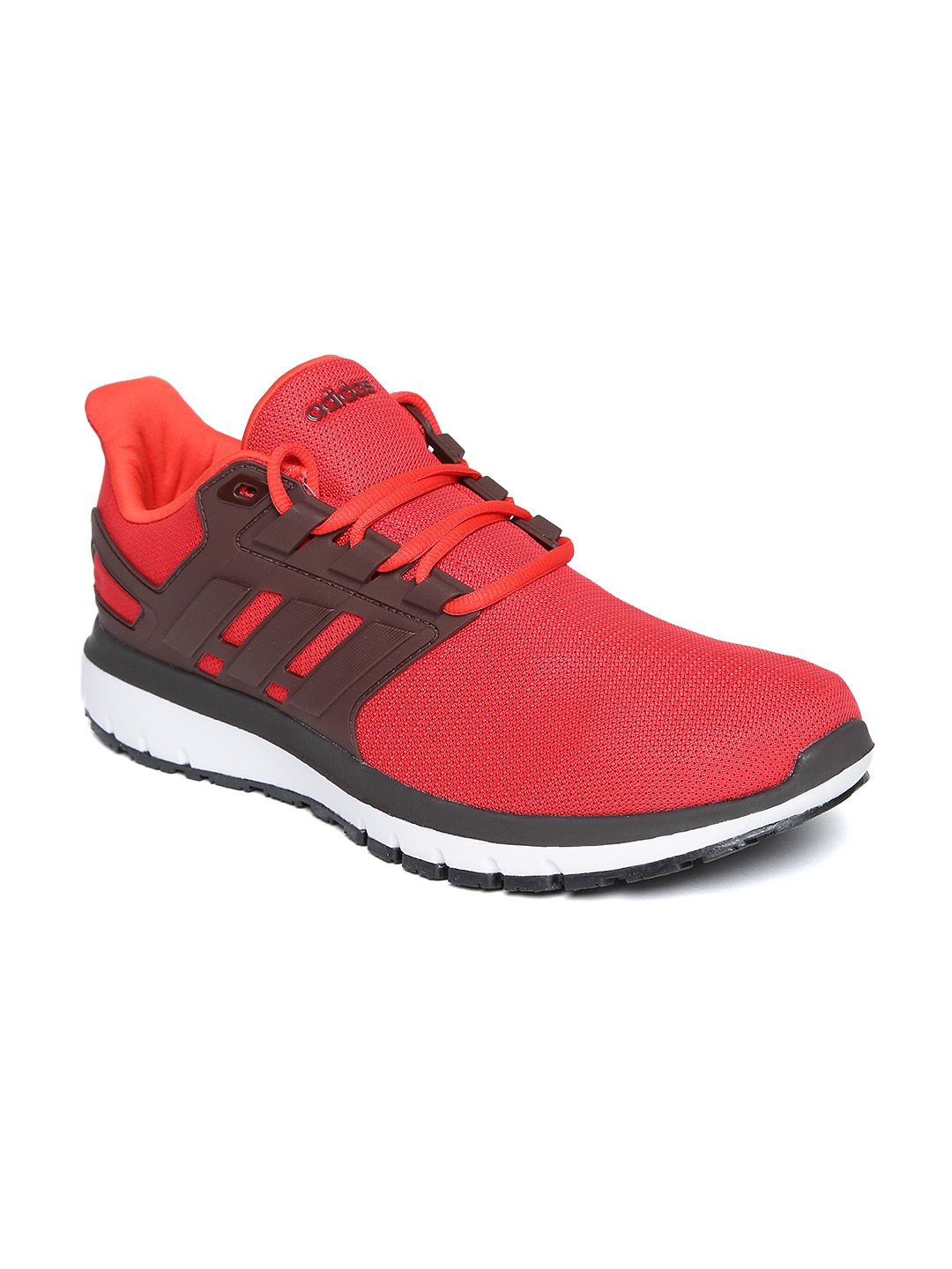 173c6c69b Buy Adidas Men Red   Brown Energy Cloud 2 Running Shoes - Sports ...