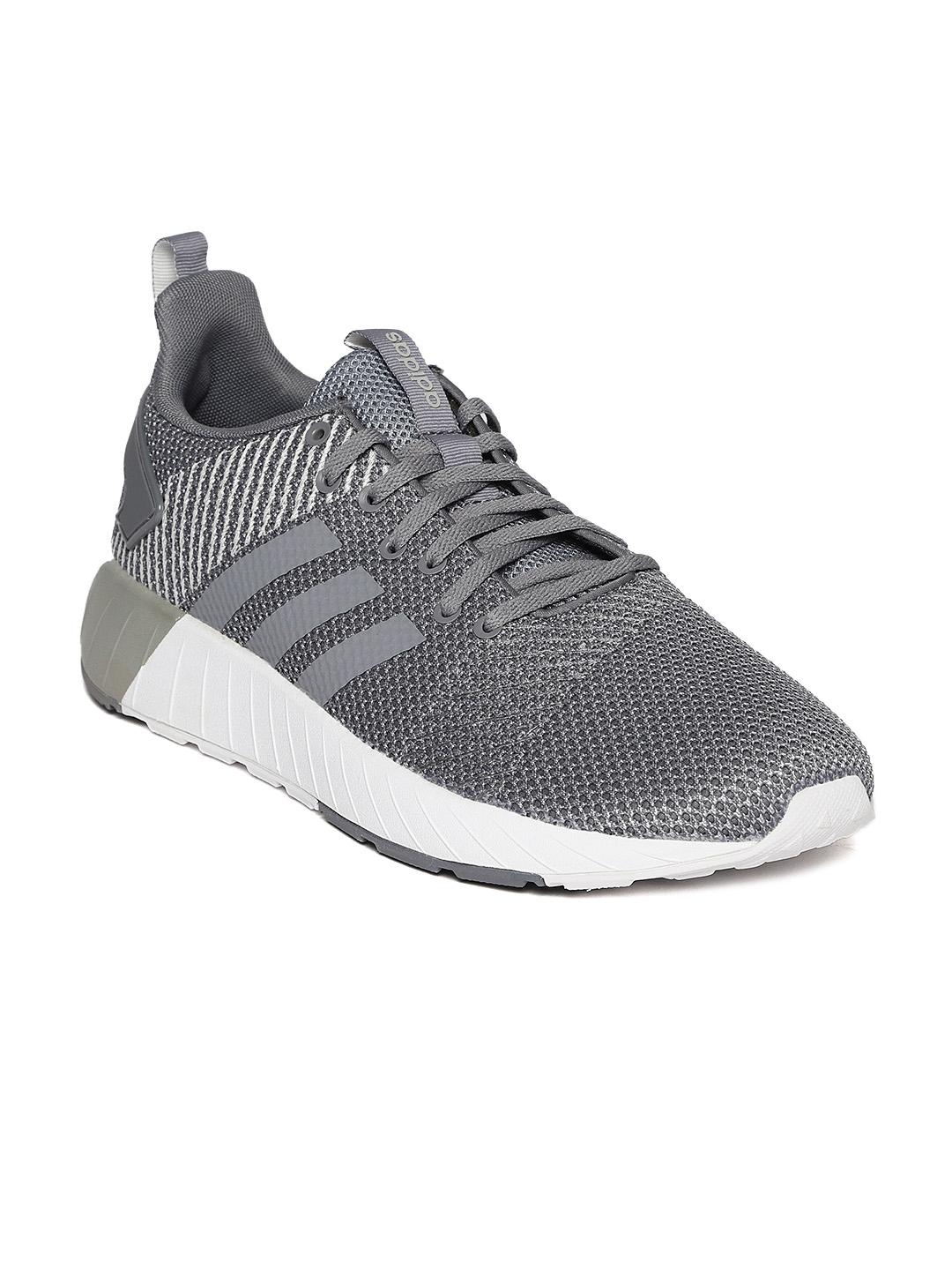 7d0516599 Buy Adidas Men Grey QUESTAR BYD Running Shoes - Sports Shoes for Men ...