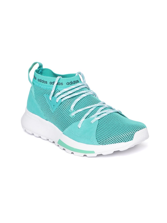 a36dd325889 Buy ADIDAS Women Sea Green Quesa Running Shoes - Sports Shoes for ...