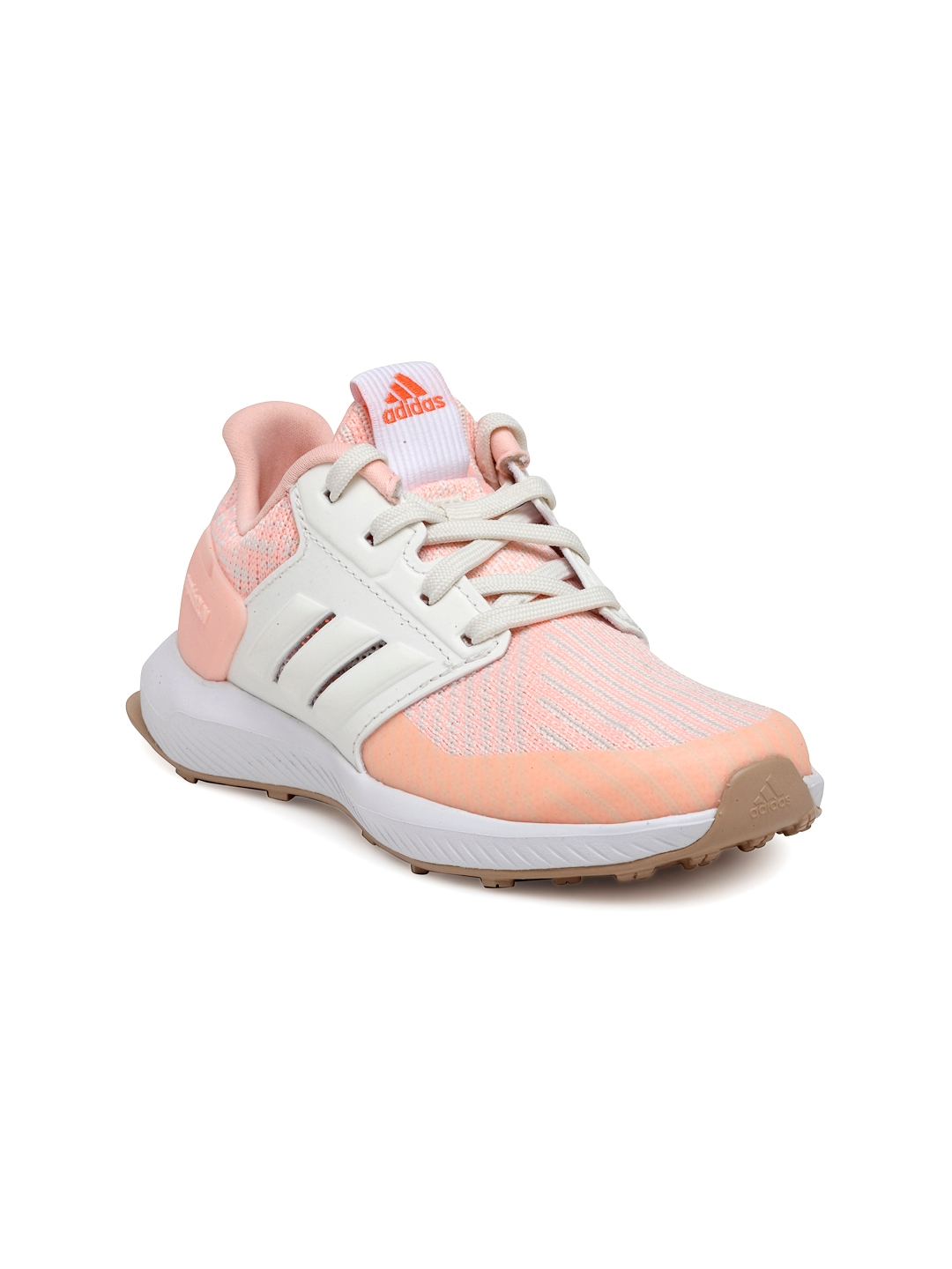 46970ea94a62 Buy ADIDAS Kids Peach Rapidarun Knit C Running Shoes - Sports Shoes ...