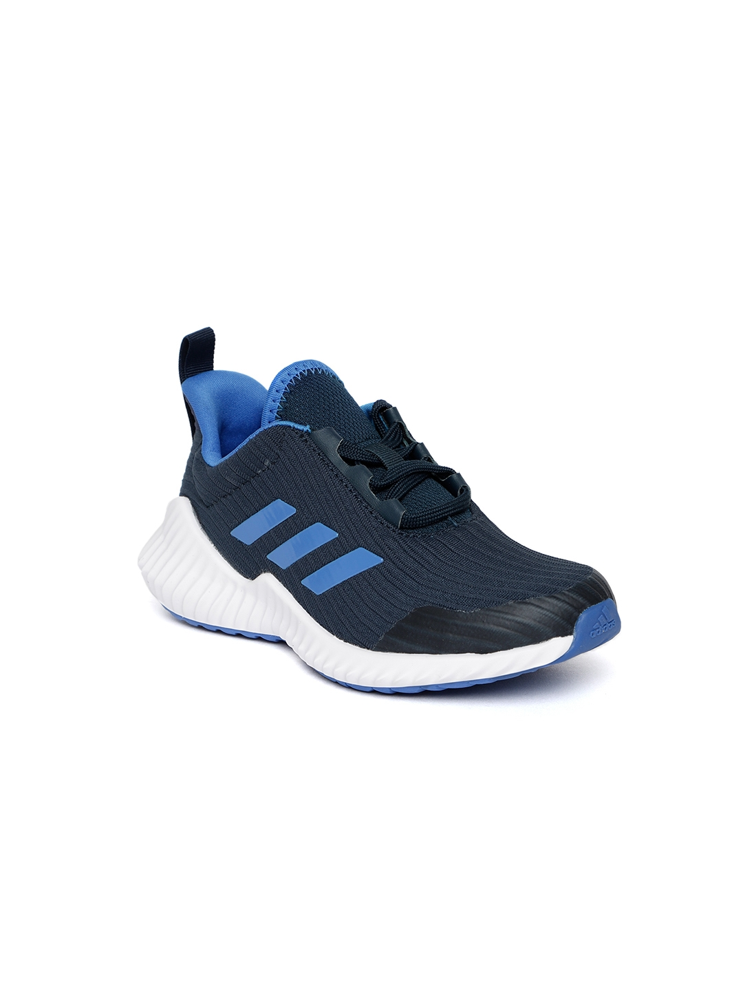 Buy ADIDAS Kids Navy FORTARUN Self Striped Running Shoes - Sports ... 45164789e91