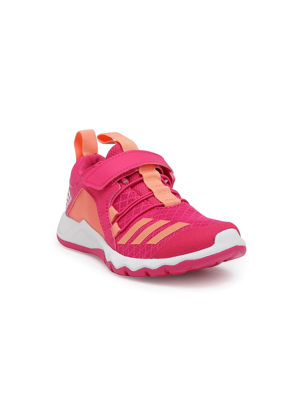 2b07e1b26af Buy ADIDAS Kids Pink Rapidaflex EL Running Shoes - Sports Shoes for ...