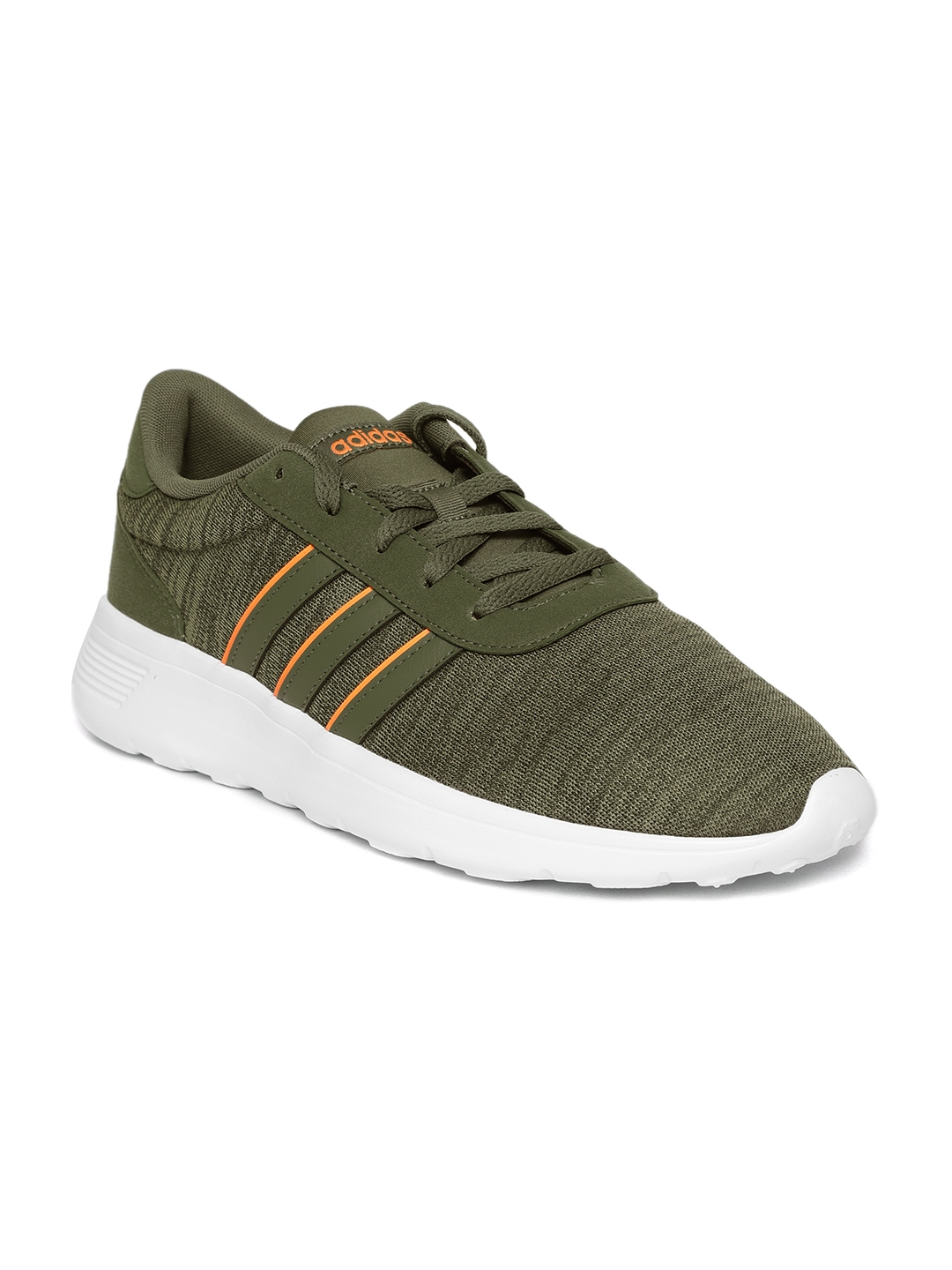 a9018dab5a1 Buy Adidas Men Olive Green Lite Racer Running Shoes - Sports Shoes ...