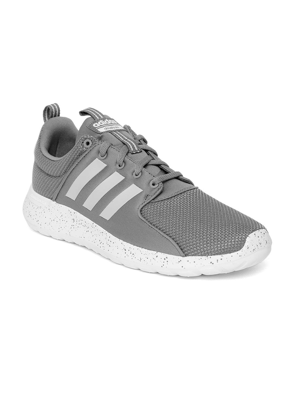 chaussures de sport 4d341 c8898 ADIDAS Men Grey Cloudfoam Lite Racer Running Shoes