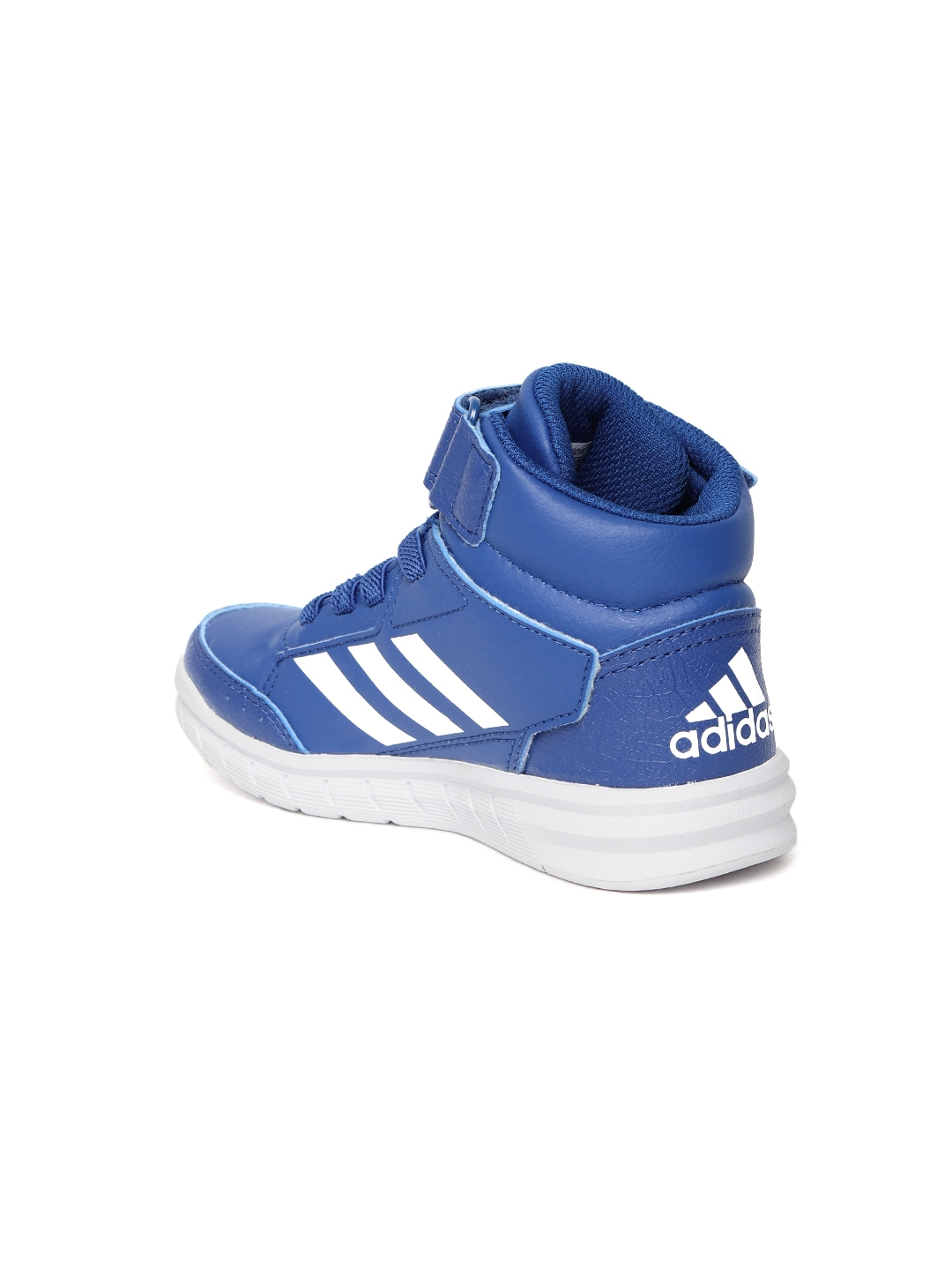 new arrival d49fe 6c096 Adidas Kids Blue Altasport Mid EL Training Shoes
