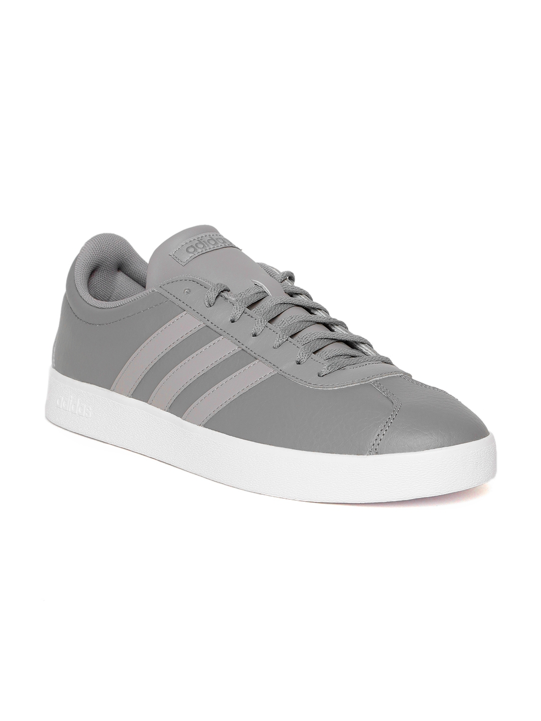 24d6ce863df Buy ADIDAS Originals Men Grey VL Court 2.0 Skateboarding Shoes ...