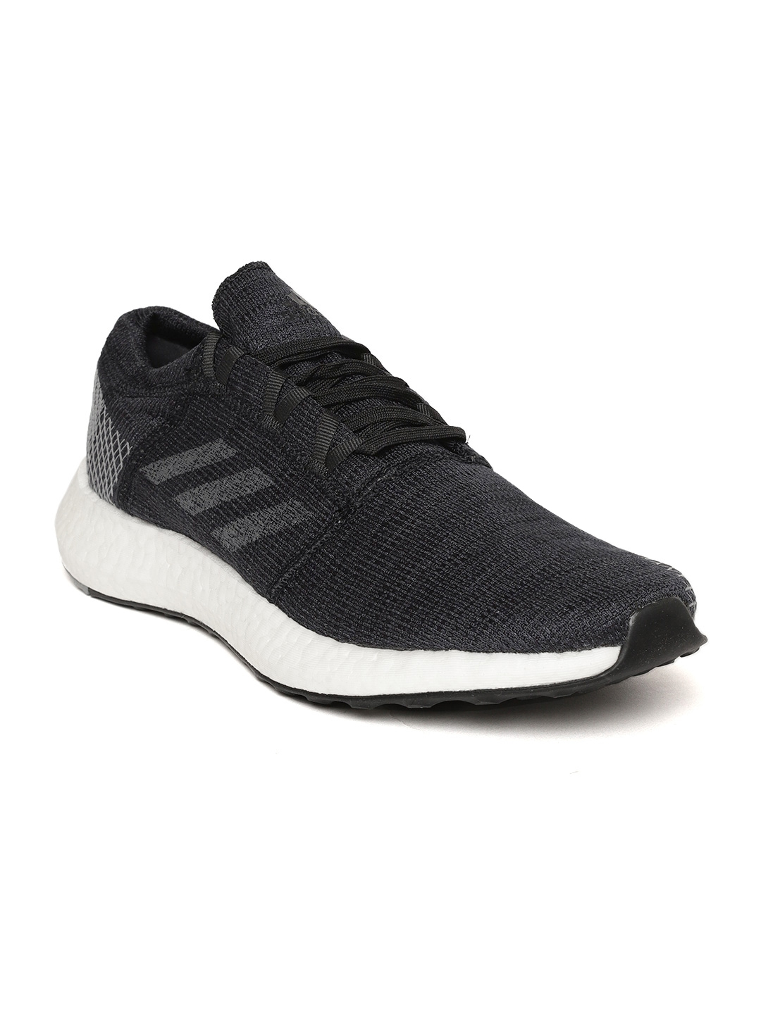 31d38dcf5 Buy ADIDAS Men Black   Grey Pureboost Go Running Shoes - Sports ...