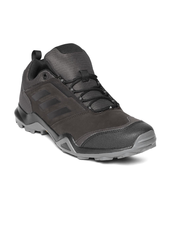 82903edf2de Buy ADIDAS Men Coffee Brown TERREX Brushwood Leather Outdoor Shoes ...