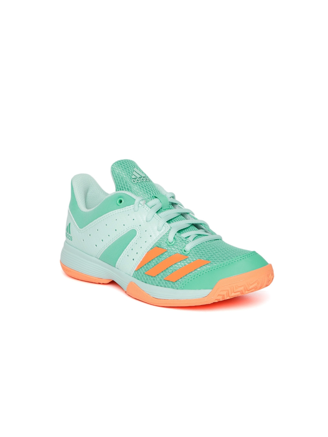 Buy ADIDAS Kids Green Wucht Junior Badminton Shoes - Sports Shoes ... c1c8a1b65