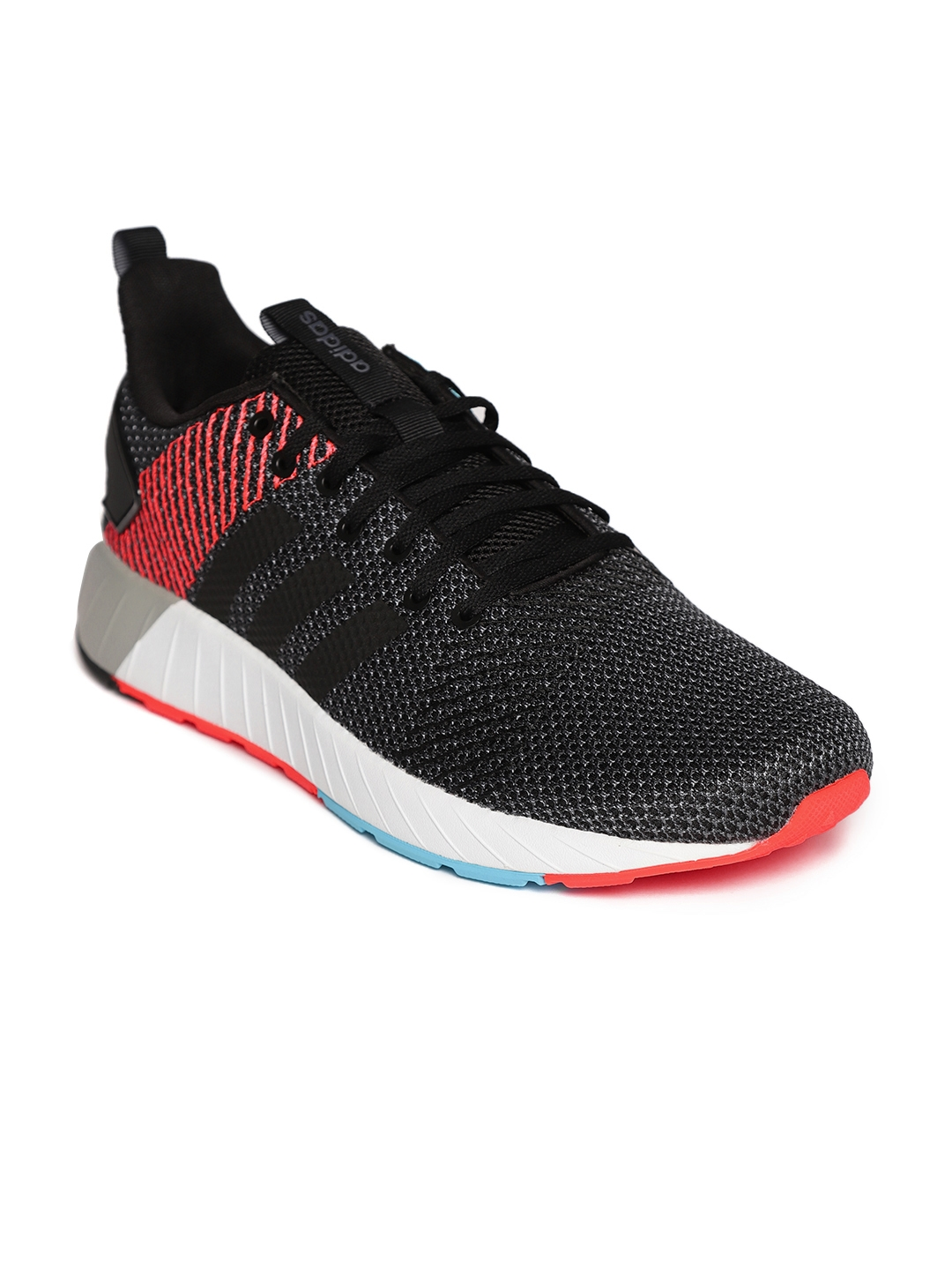 póngase en fila debajo terraza  Buy Adidas Men Charcoal Grey QUESTAR BYD Running Shoes - Sports Shoes for  Men 6841756 | Myntra