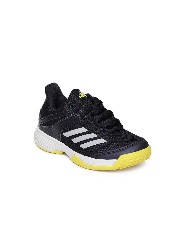 8fc11c3001e Buy ADIDAS Kids Navy Blue Solid Adizero Club K Tennis Shoes - Sports ...
