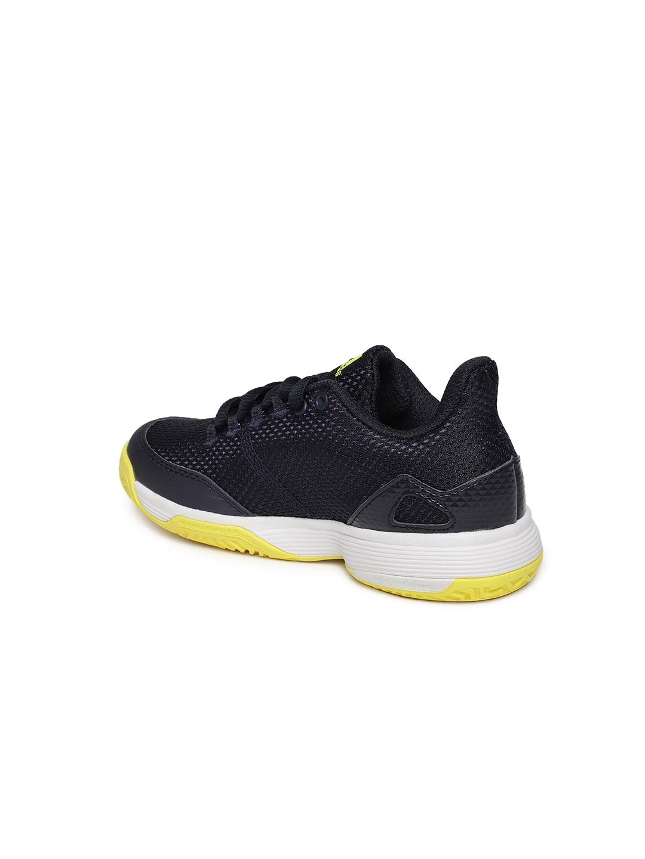 d976e3d163ba4 Buy ADIDAS Kids Navy Blue Solid Adizero Club K Tennis Shoes - Sports ...