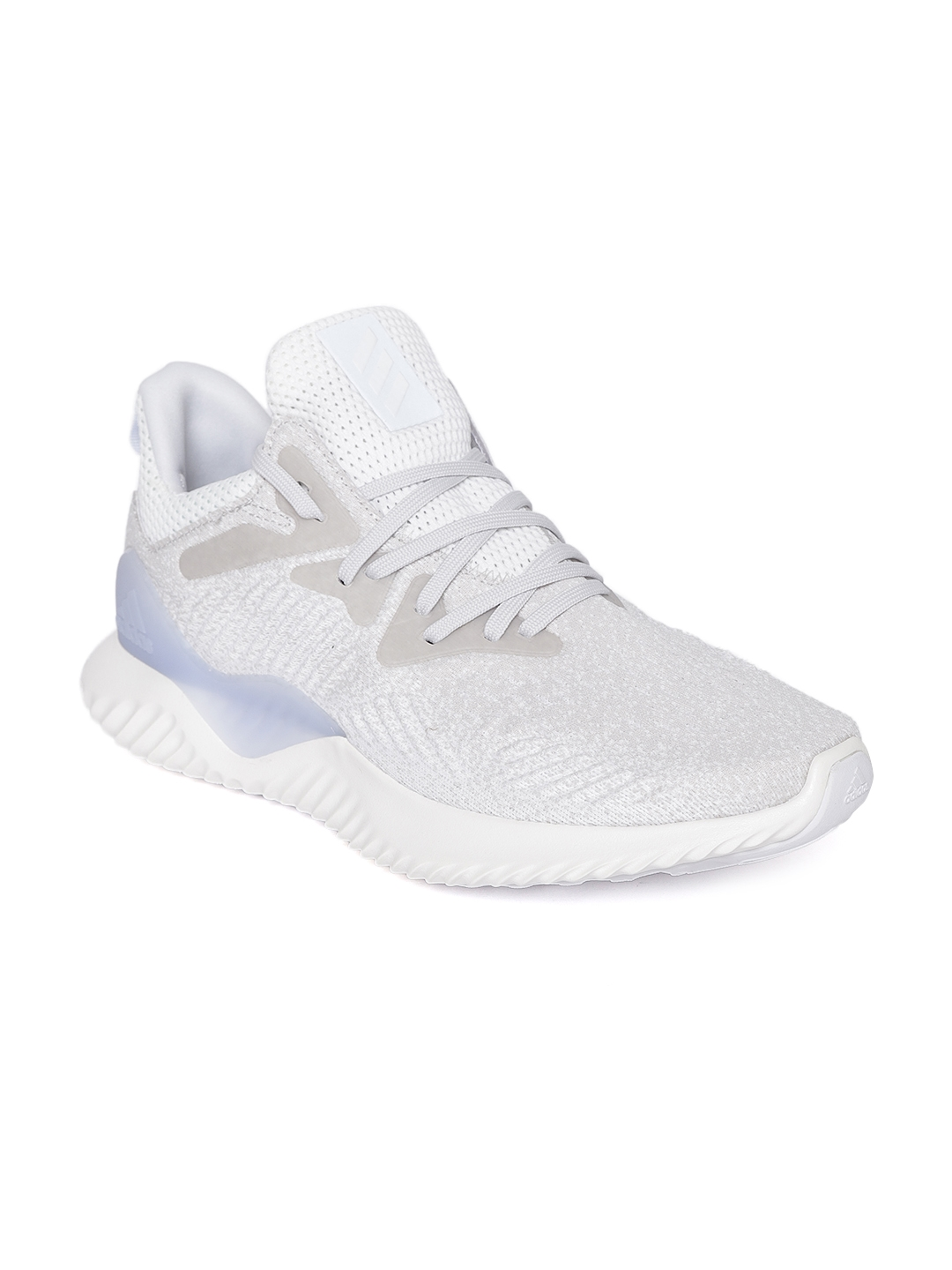 853ff6539 Buy ADIDAS Men Off White   Grey Alphabounce Beyond M Running Shoes ...
