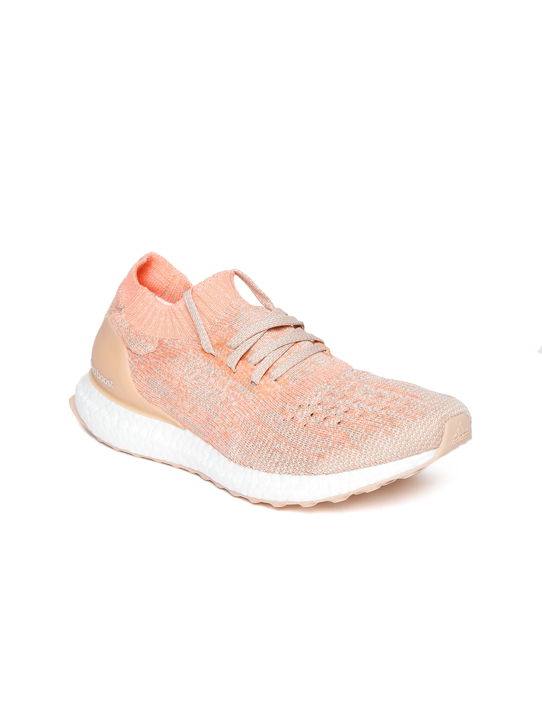 buy popular 96137 e1f6a Buy ADIDAS Women Peach Coloured Ultraboost Uncaged Running ...