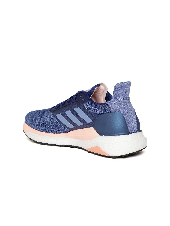 best sneakers 6c30f 22930 Adidas Women Purple  Blue Solar Glide Running Shoes