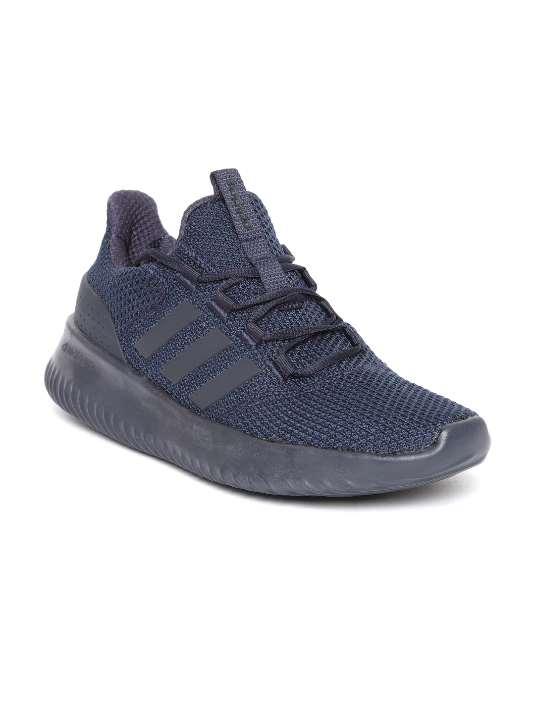 Buy ADIDAS Men Navy Blue Cloudfoam Ultimate Running Shoes - Sports ... f105415f1