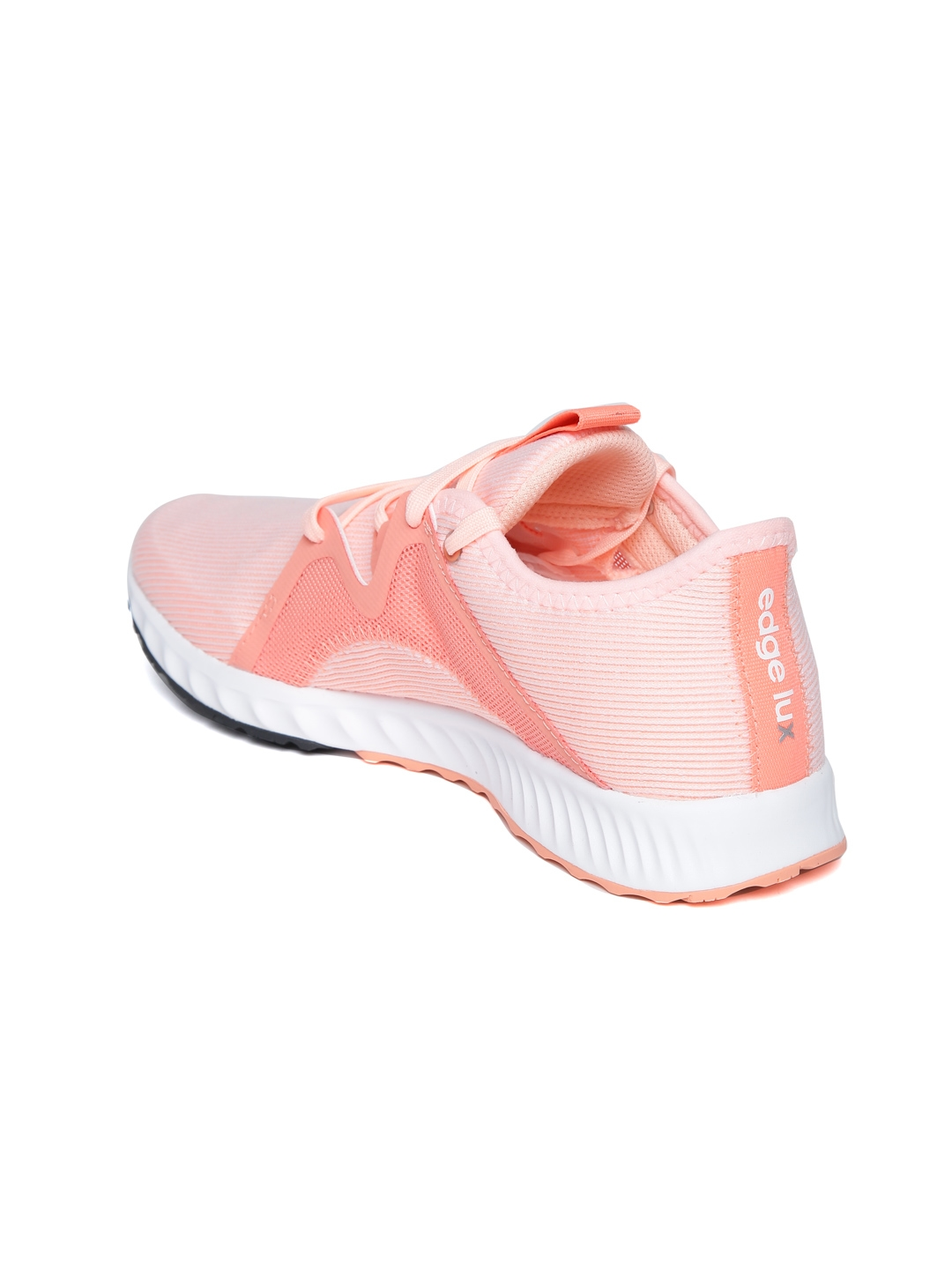 Buy ADIDAS Women Peach Coloured Edge Lux 2 Colourblocked Running ... 9a4d22773