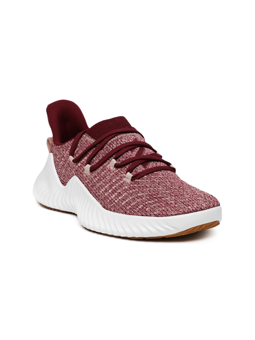 new product 94fea 7b7b6 ADIDAS Women Maroon ALPHABOUNCE Training Shoes