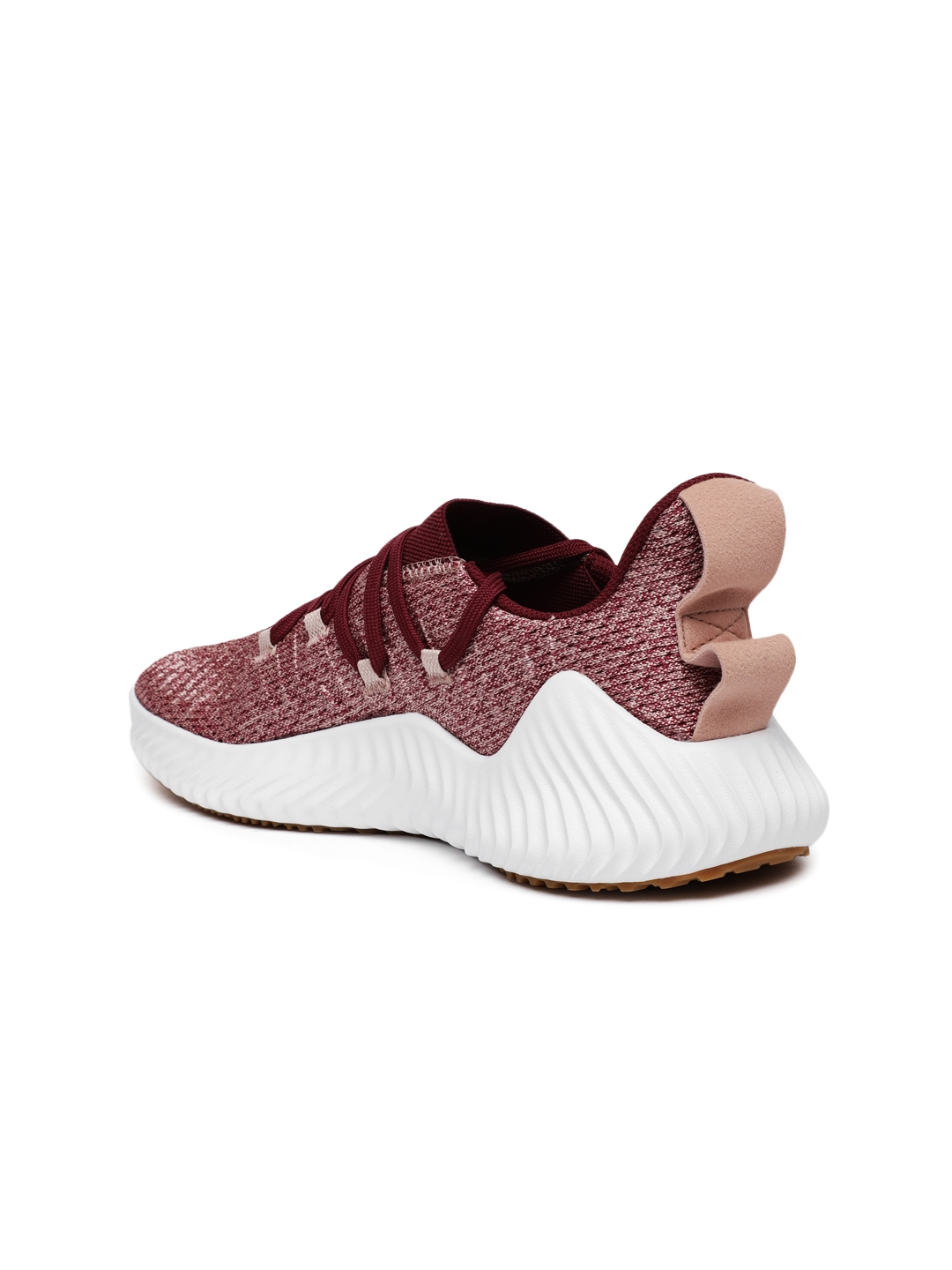 new product 2c530 add1b ADIDAS Women Maroon ALPHABOUNCE Training Shoes