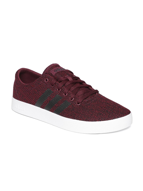 buy popular 4888b 54a00 ADIDAS Originals Men Burgundy Easy VULC 2.0 Skateboarding Shoes