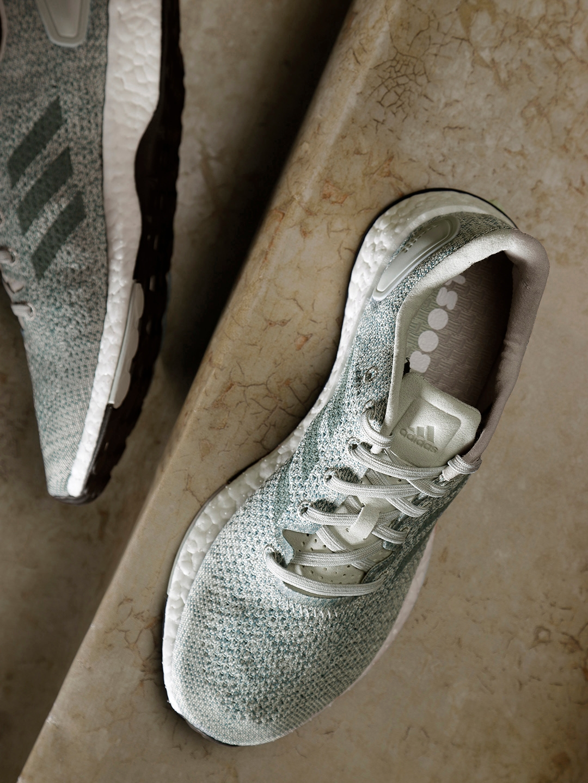 a353785b92a0 Buy ADIDAS Women Green   Grey Pureboost DPR Running Shoes - Sports ...
