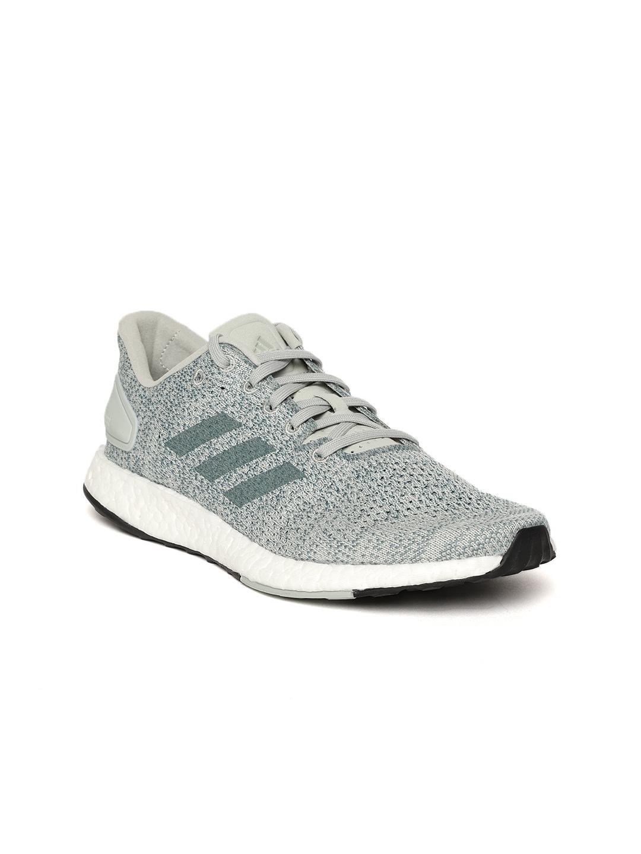 83dec38c8 Buy ADIDAS Women Green   Grey Pureboost DPR Running Shoes - Sports ...