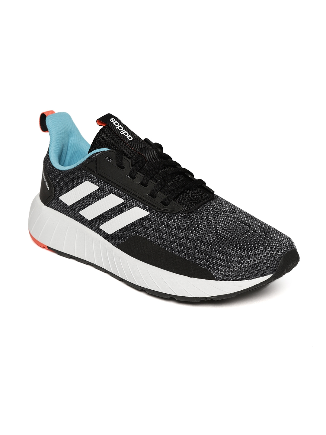 56de3cee6 Buy Adidas Men Grey   Black QUESTAR Drive Running Shoes - Sports ...